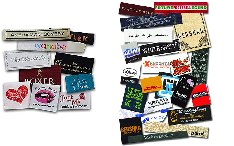 White Woven Labels Factory