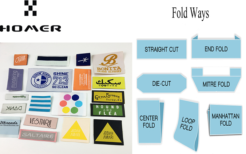 Polyester Woven Labels OEM