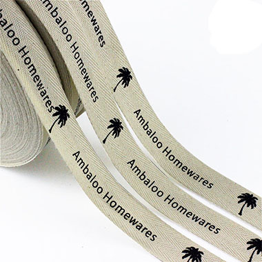 twill cotton ribbons supplier
